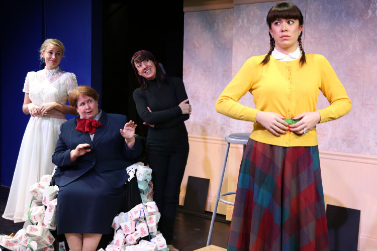Chekhov meets Beckett in Laufer's provocative 'Three Sisters of Weehawken'