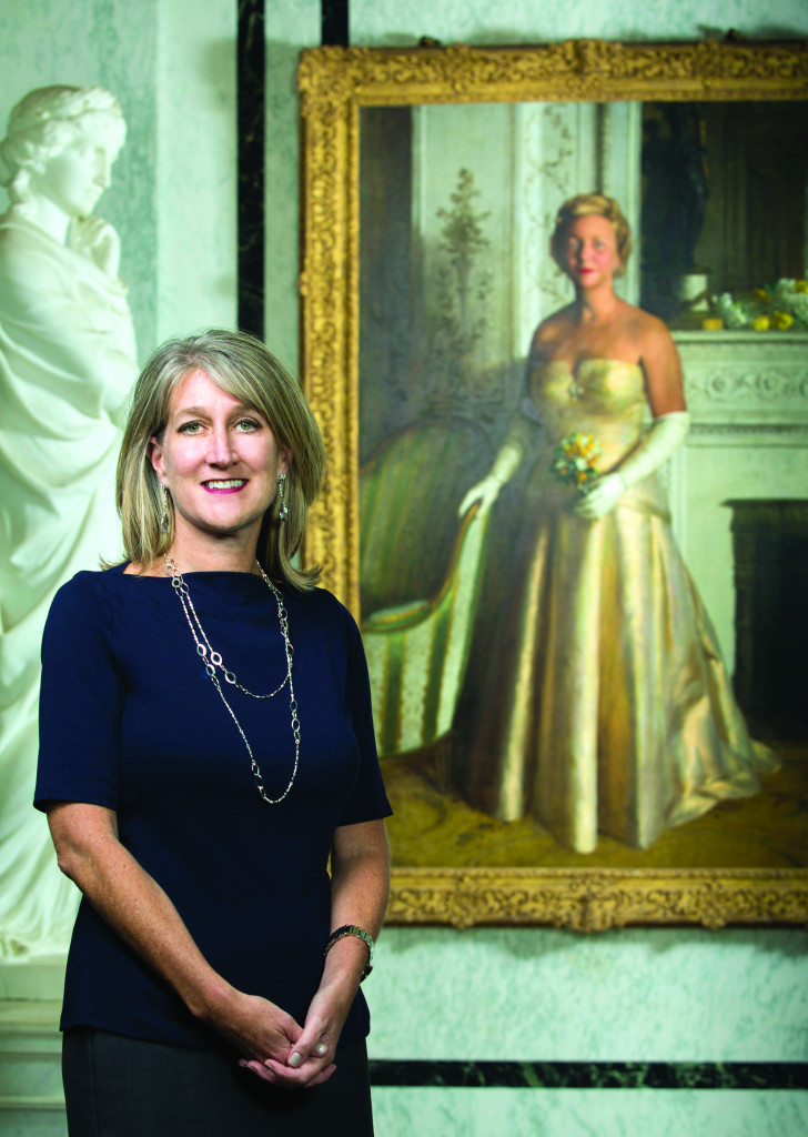 Erin Manning, executive director of the Flagler Museum. (Jacek Photo, © Flagler Museum)