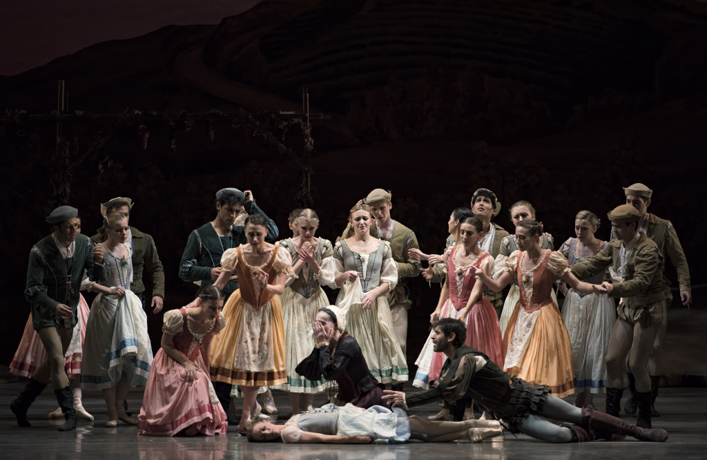 A scene from Miami City Ballet's production of Giselle. (Photo by Gene Schiavone)