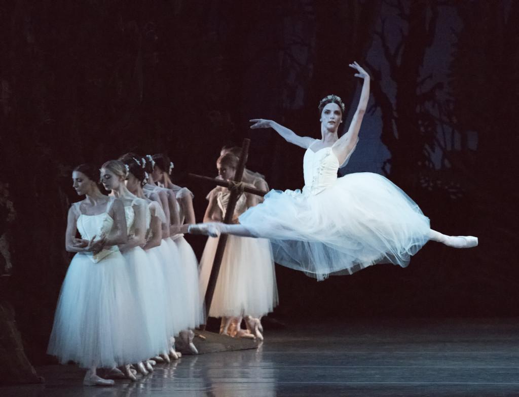 Jordan-Elizabeth Long as Myrtha in Giselle. (Photo by Gene Schiavone)