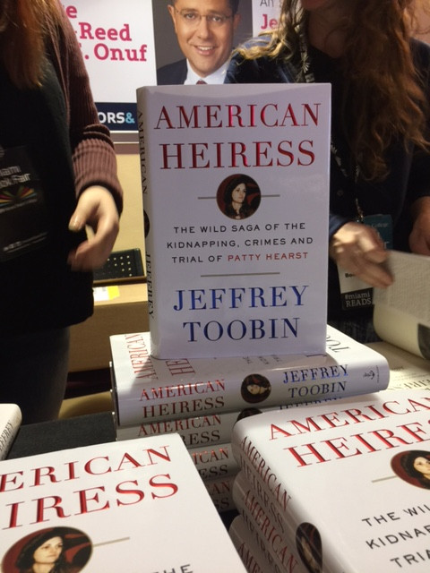 Jeffrey Toobin promoted his newest book, American Heiress, on Thursday. (Photo by Chauncey Mabe)