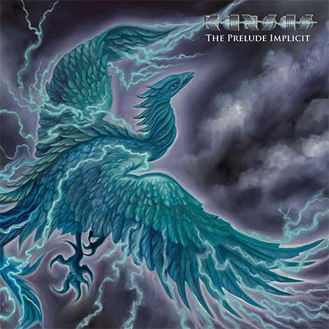 The cover of the new Kansas album, The Prelude Implicit. (Painting by Denise de la Cerda)