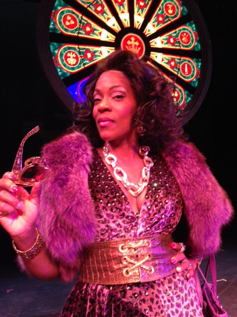 Patrece Bloomfield as Delores van Cartier in Sister Act.