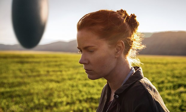 Amy Adams in Arrival. (Photo by Jan Thijs)