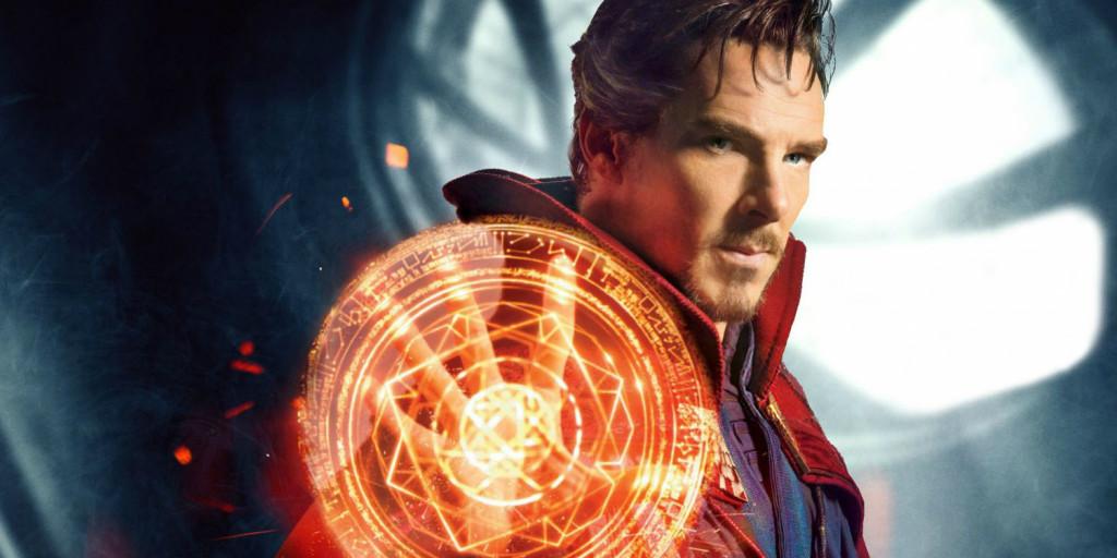 Benedict Cumberbatch in Doctor Strange.