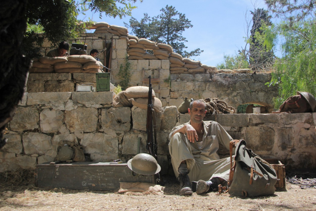 Gil Frank in Kapo in Jerusalem, showing in March.