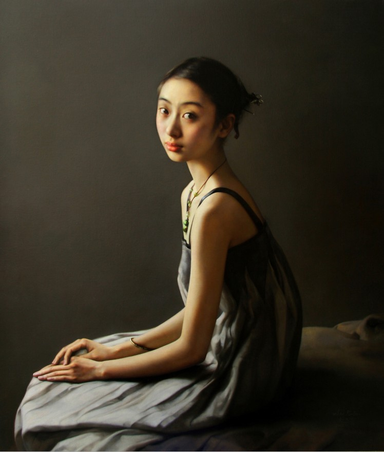 Quiet Moment (2012), by Zhao Kailin.