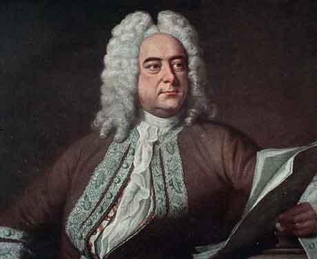 George Frideric Handel (1685-1759).