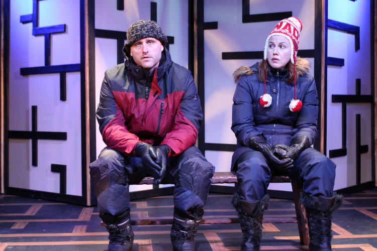 Quirky, brilliant 'Random World' engages at FAU Theatre Lab