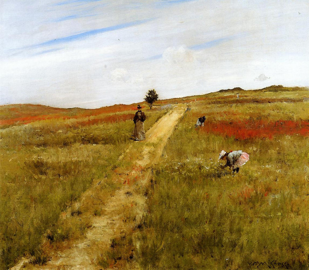 Shinnecock Hills, Autumn (1893), by William Merritt Chase.
