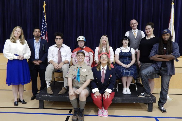 Entr'acte's energetic troupe ideal for 'Putnam County Spelling Bee'