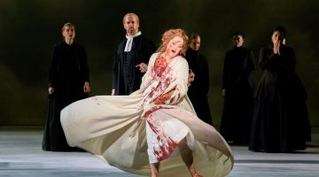 Fine singing triumphs over spare production at FGO's 'Lucia'