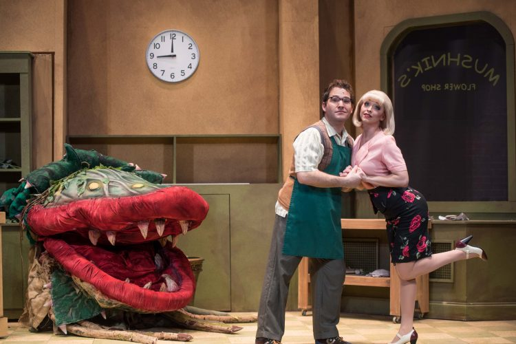Well-cast 'Little Shop of Horrors' sparkles at Rinker