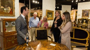 At Art and Antique Show, three artists of illusion