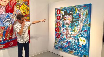 Rocker Newsted channels power, energy onto canvas in Cultural Council show