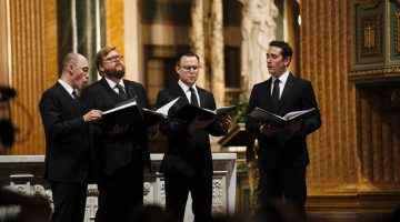 New York Polyphony's excellence muted by dry acoustic