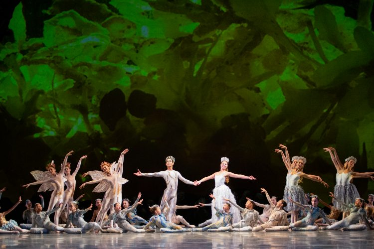 Beautiful, visually lavish 'Midsummer Night's Dream' ends MCB season