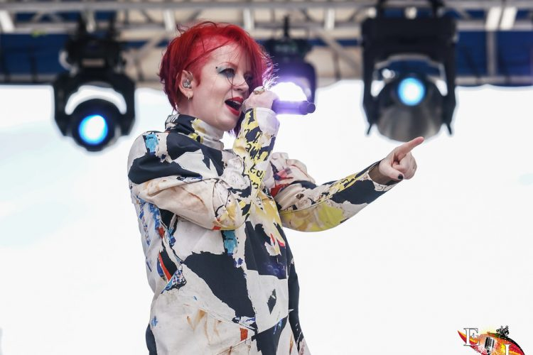 Garbage brings out the sun during a soggy SunFest Sunday