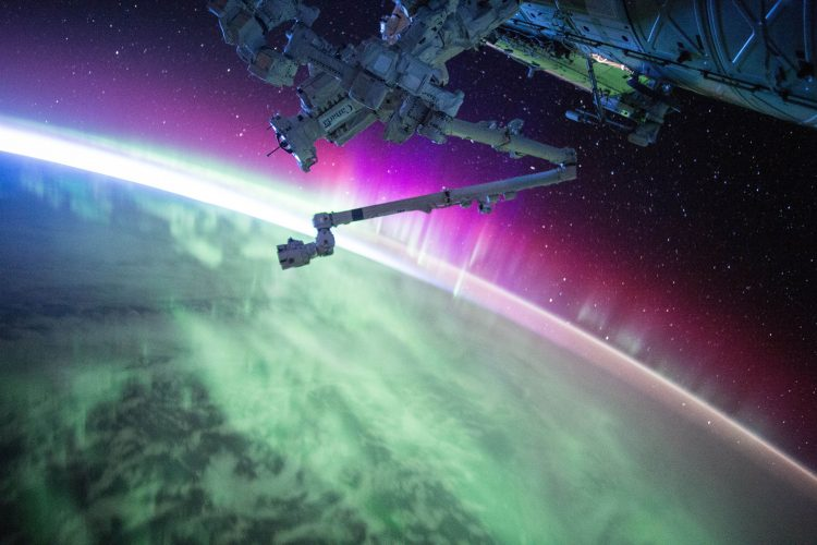 Astronaut's images at Photo Centre paint our world in cosmic colors