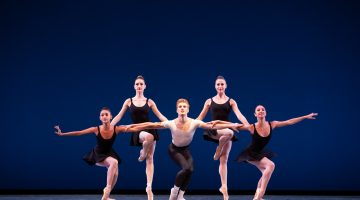 MCB in fine form for evening of Balanchine, Taylor