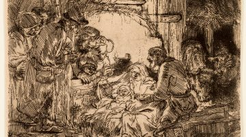 In small ink strokes, humanity writ large: Rembrandt at the Four Arts