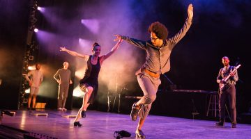 Dorrance Dance electrifies at Duncan with tap 'Double Down'