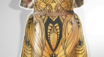 Lazes' 'Paper Dolls' pay homage to McQueen, Greek sculpture