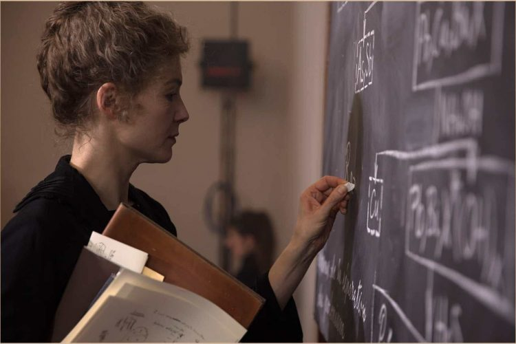 Ambitious 'Radioactive' captures Curie's psychology, shortchanges her work
