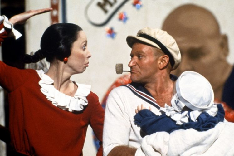 In its Blu-ray debut, 'Popeye' continues to age artfully, if manically