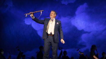 Superb singers make PB Opera's 'Flute' magical amid pandemic